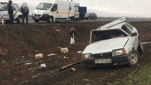 В Запорожской области произошло смертельное ДТП: погиб водитель, – ФОТО