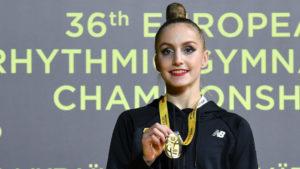 Гимнастка из Запорожья выиграла чемпионат Европы