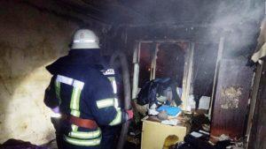В Запорожье в пожаре погиб пожилой мужчина, – ФОТО