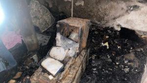 В Запорожской области сгорела военная часть: виновного могут наказать на срок от 5 до 7 лет