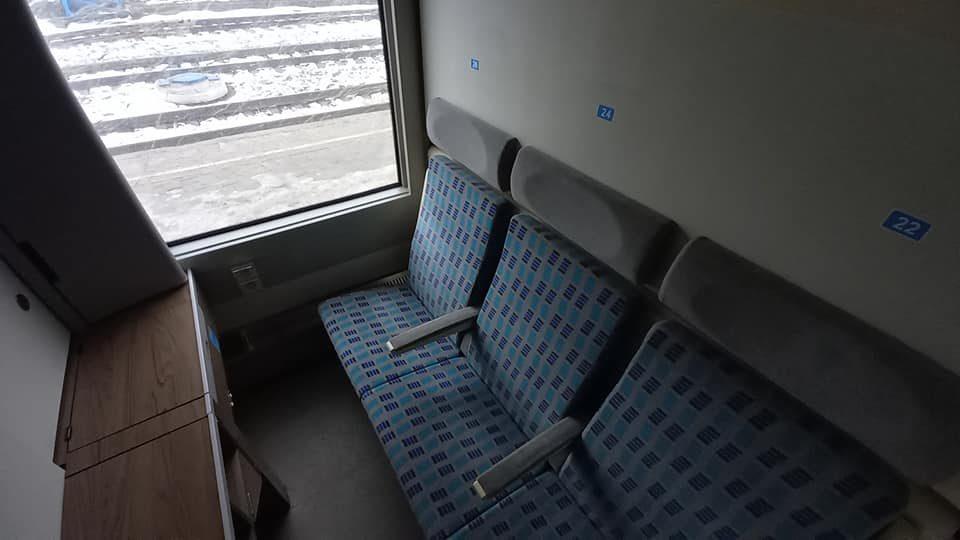 Поезд Киев-Запорожье оборудовали вагонами с душем и розетками, — ВИДЕООБЗОР