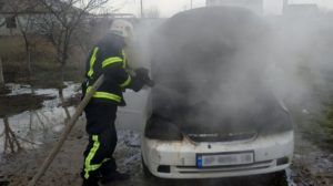 В Запорізькій області палала Chevrolet Lacetti: ведеться розслідування