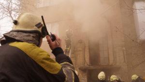 27 ДСНС-ників гасили пожежу в Запоріжжі: евакуювали людей та тварин, — ФОТО