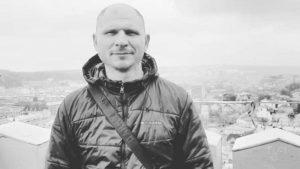 В центрі Запоріжжя попрощалися з загиблим на початку року АТО-вцем, — ФОТО