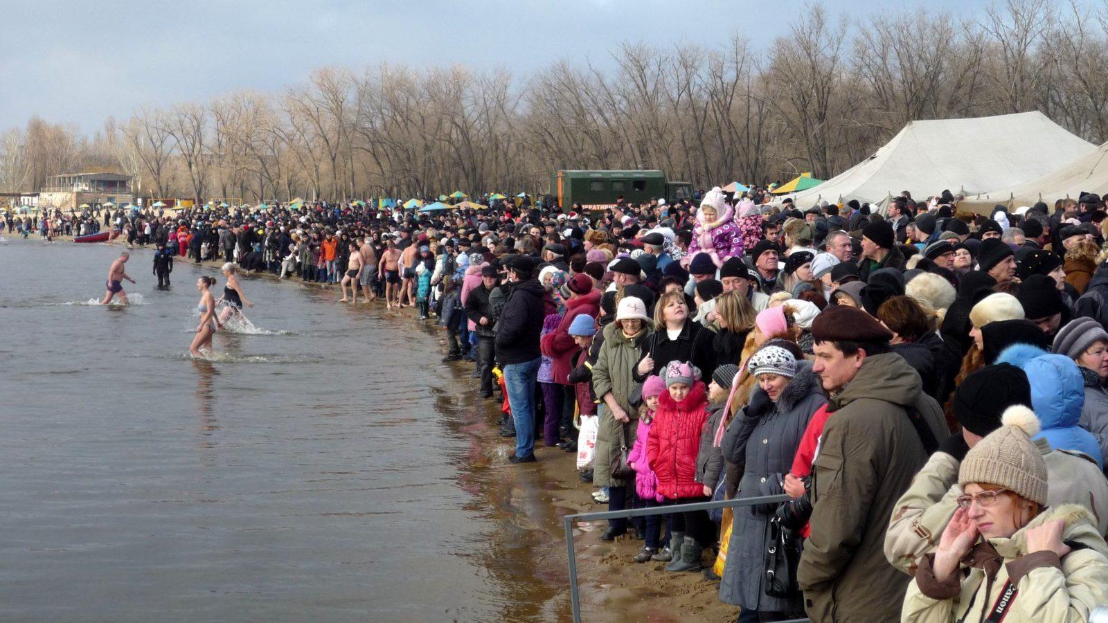 Де цьогоріч в Запоріжжі можна буде офіційно купатися на Хрещення