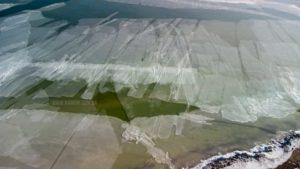 Циклон пішов, а фото залишилися: як виглядає крижаний Молочний лиман