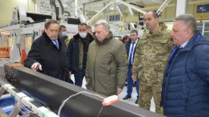 В Запорожье с рабочим визитом приехал министр обороны Украины Андрей Таран, – ФОТО
