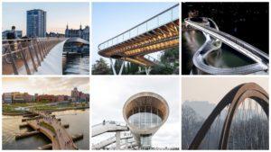 Названы 10 самых необычных мостов, открытых в 2020 году, – ФОТО
