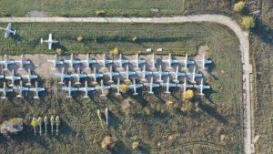 Запорожские журналисты показали настоящее кладбище самолетов, – ФОТО