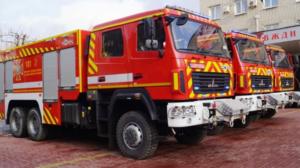 Рятувальники Запорізького гарнізону отримали 3 нових пожежно-рятувальних автомобіля, – ФОТО