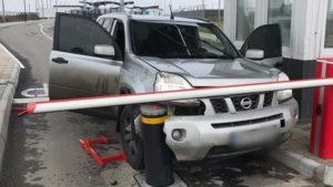 Житель Запорожья пытался прорваться через КПП на выезде в Крым, – ФОТО, ВИДЕО