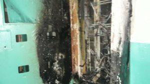 В Запорожской области 8 спасателей тушили пожар в многоэтажном доме, – ФОТО