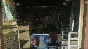 В центре Запорожья сгорел торговый киоск, – ФОТО