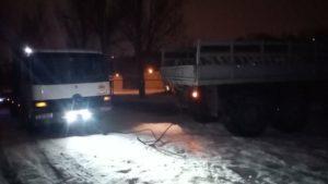 В Запорожской области спасатели вытащили из снега два автомобиля, – ФОТО