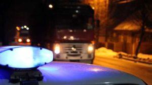 В Запоріжжі біля «Січі» застрягла вантажівка: врятували водія