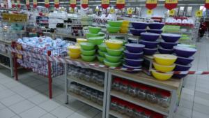 Два запорізьких гіпермаркети перевірили на дотримання карантинних вимог: результати