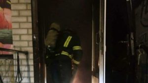 Горели кондиционер и электрообогреватель: в Мелитополе сгорел магазин