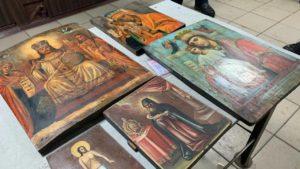 На Запоріжжі СБУ попередила контрабанду старовинних ікон до Росії, – ФОТО