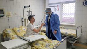 Міністр охорони здоров'я  відвідав медиків, які постраждали у пожежі в Запорізькій обласній інфекційній лікарні