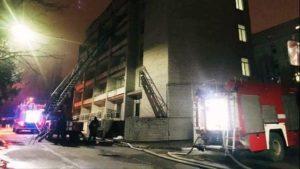 Стала известна причина пожара в Запорожской областной инфекционной больнице