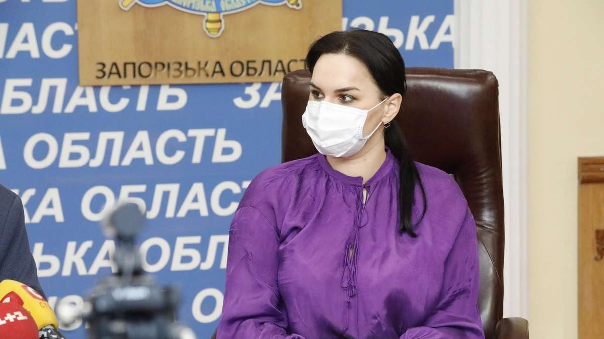 Голова обласної ради подякувала комбінату «Запоріжсталь» за допомогу у відновленні відділення інфекційної лікарні