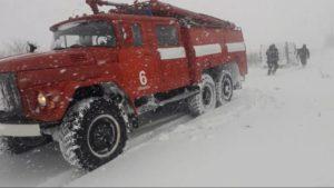 В Запорожской области из-за непогоды спасатели вытащили из снега 8 автомобилей, – ФОТО