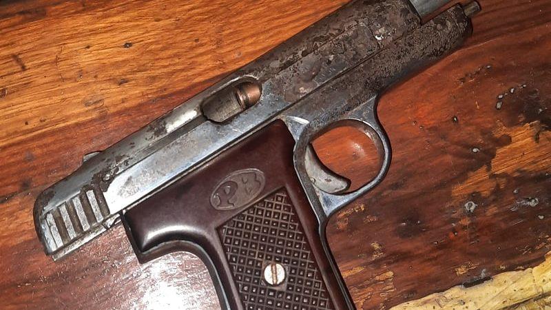 У Запорізькій області нацгвардійці затримали чоловіка з зарядженою вогнепальною зброєю, – ФОТО