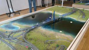 В Укравтодоре показали, как в Запорожье будет выглядеть вантовый мост с левого берега Днепра на Хортицу, – ФОТО