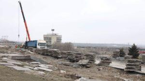 В Запорожье на площади возле Днепрогэса после реконструкции появится фонтан и скейт-парк: как это будет выглядеть, – ФОТО