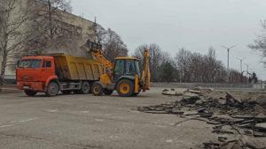 В Запорожье на Космосе начали реконструкцию главной площади района, – ФОТО