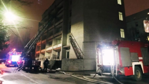 Комбинат «Запорожсталь» готов оказать финансовую помощь в проведении ремонта после пожара  в здании инфекционной больницы