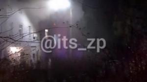 В Запорожье горел корпус областной инфекционной больницы: погибли четыре человека, еще двое пострадали