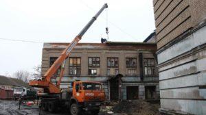 В Запорожье продолжается реконструкция здания сгоревшей школы №53, – ФОТО