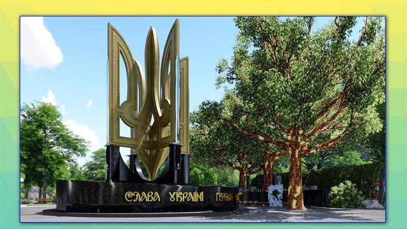 Стало відомо, який пам'ятник з'явиться на площі Свободи у Запоріжжі, – ФОТО