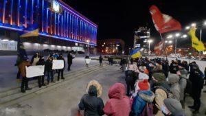 В центре Запорожья провели акцию в поддержку Сергея Стерненко, – ФОТОРЕПОРТАЖ