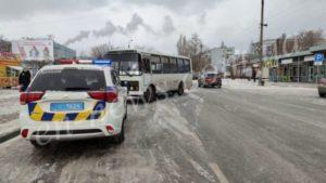 В Запорожской области маршрутный автобус насмерть сбил женщину-пешехода, – ФОТО