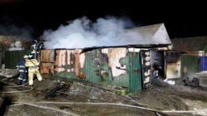 У Запорізькій області у гаражі сгорів автомобіль, – ФОТО