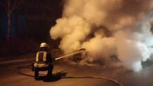 У Запоріжжі та області вночі згоріли два автомобілі, – ФОТО