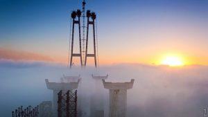 Слідкувати за безпекою річкової навігації біля будівництва мостів в Запоріжжі буде мобільний паром