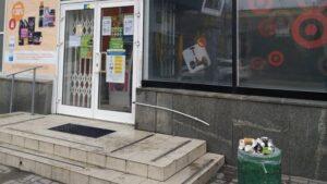 На два торговых заведения в Запорожье составили админпротоколы за мусор