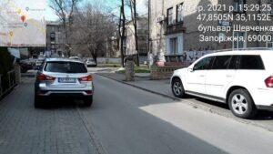 За один день инспекторы по парковке наложили штрафов на водителей Запорожья почти на 36 тысяч гривен