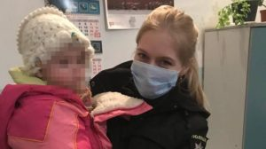 В Запорізькій області поліція розшукала маленьку дитину