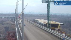 У Запоріжжі на два тижні обмежать рух транспорту по новому мосту з Бабурки на Хортицю, – ФОТО