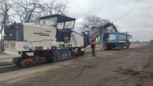 В Запорожской области за 190 миллионов начали ремонт 10 километров трассы на Кривой Рог, – ФОТО