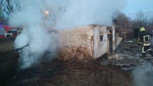 В садово-городному товаристві в Запоріжжі сталась пожежа