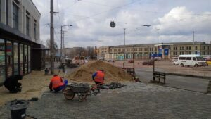 Когда площадь Привокзальная в Запорожье будет иметь обновленный вид