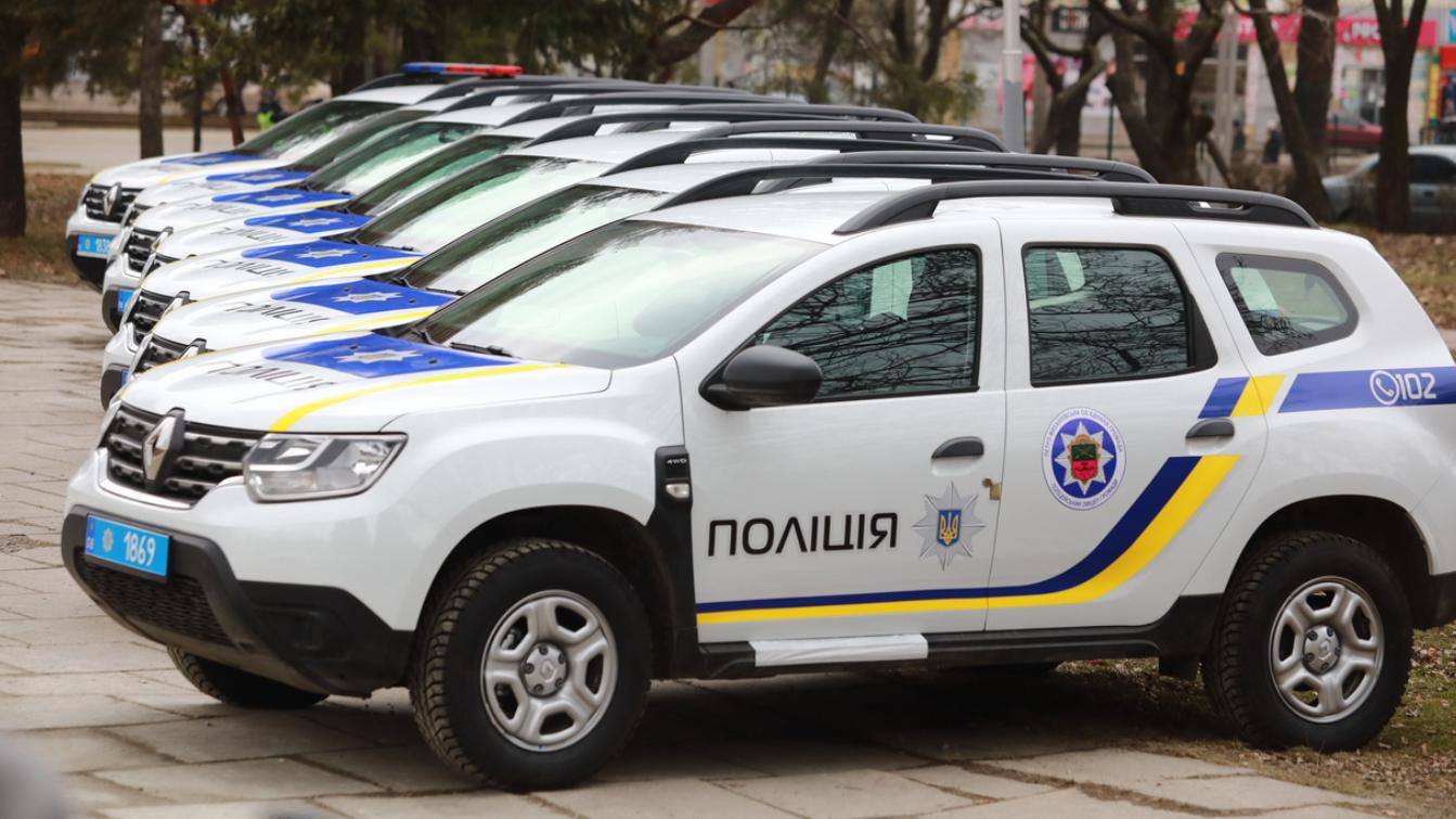 У Запоріжжі поліцейські офіцери громад отримали 19 нових автомобілів Renault Duster, – ФОТО