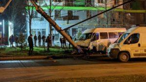 В Запорожье водитель маршрутки, который устроил ДТП и скрылся от полиции, будет оставаться на свободе