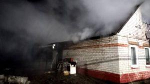 В Запорожском районе спасатели ликвидировали пожар в доме, – ФОТО