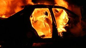 У Запоріжжі згорів автомобіль депутата міської ради